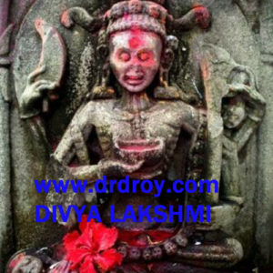 Tantra Black Goddess Kapali Good Luck Talisman Cha...
