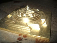 INFINITE WEALTH MERU SHREE YANTRA PYRAMID