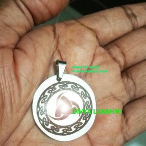 Djinn Jinn Spirit Norse God Odin Horn Sigil Pendant