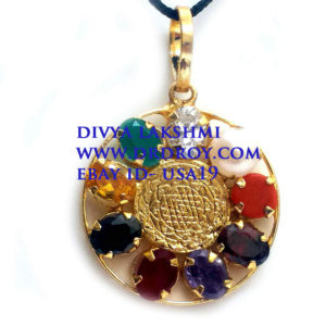 Orgone Sri Yantra Luck Planet Protection Pendant