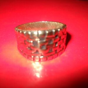 Egyptian Testament Magical Solomon Seal Amulet Ring 800 AD