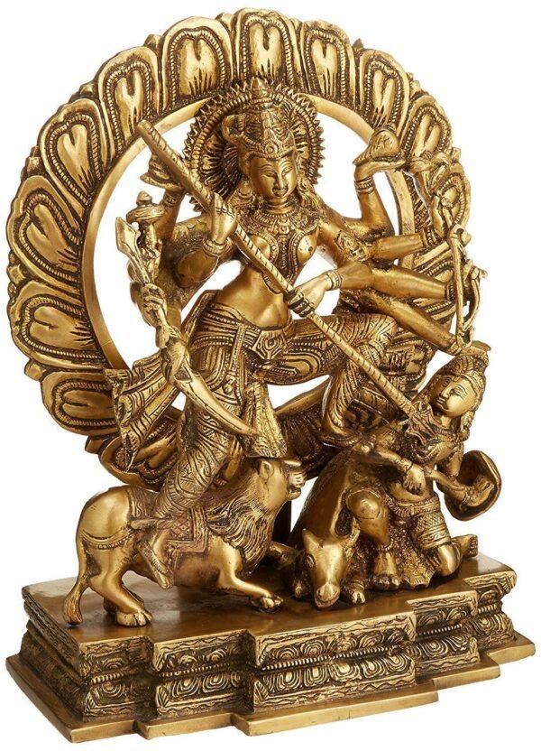 Mahishasuramardini statue