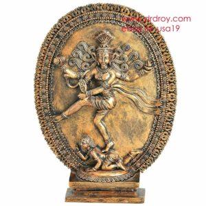 Shiva Statue Natraja Sculpture Hindu Lord Siva Cold Casted Idol