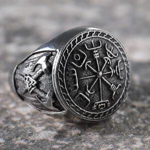 Viking Men's Totem Ring