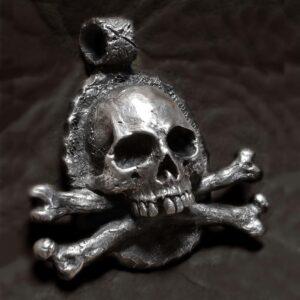 FULL PROTECTION FROM EVIL spellbound Skull Bone Pendant